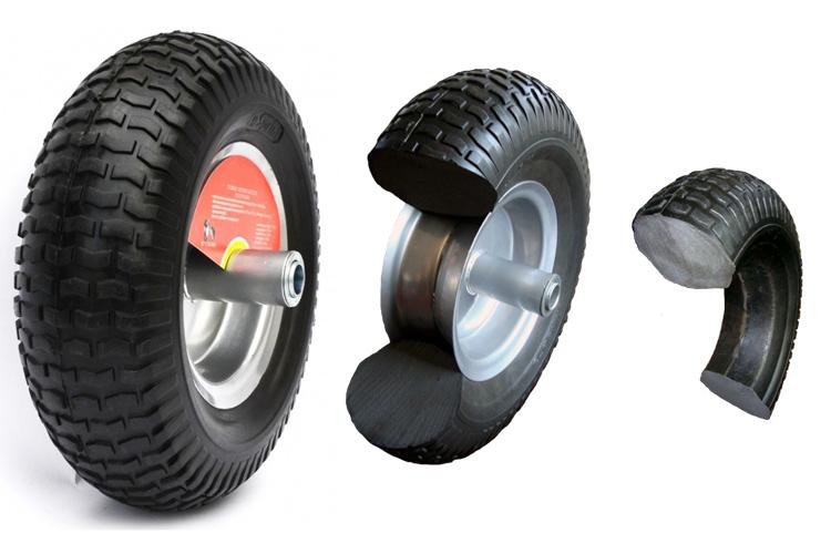 Как сделать колёса для тачки 616